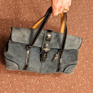 Coach suede bag